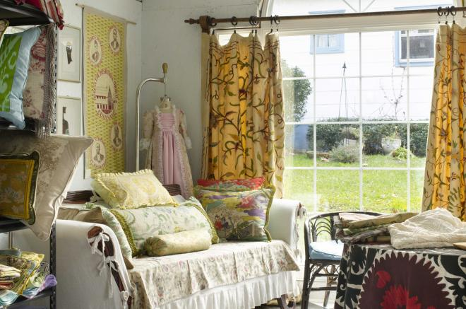 studio shed sewing room