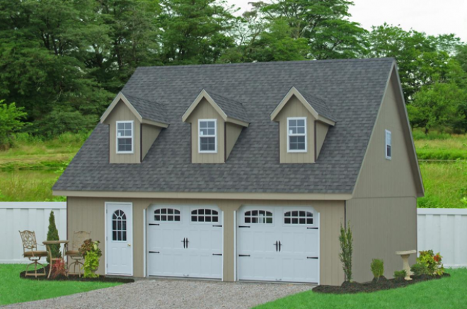 two car garage for sale
