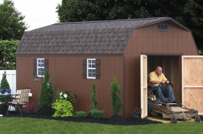 wooden storage sheds for sale md