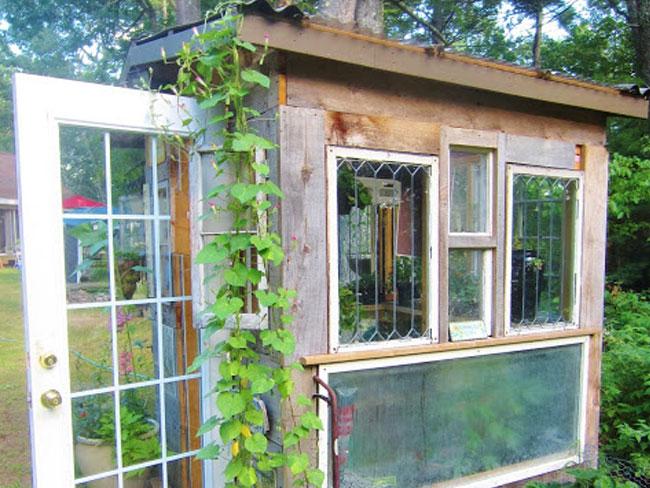 custom backyard potting shed