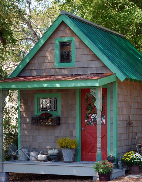 garden backyard potting sheds in pa 0