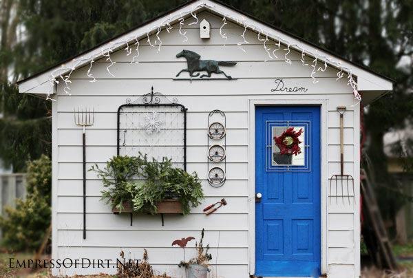 garden sheds for backyard potting
