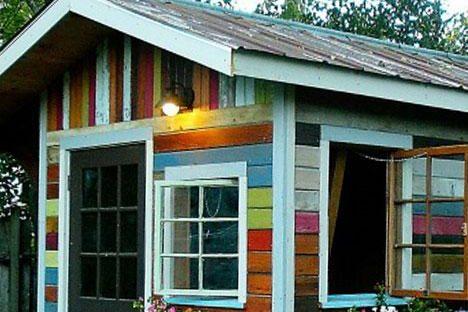 backyard garaden potting shed va