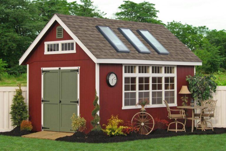 garden potting shed greenhouse