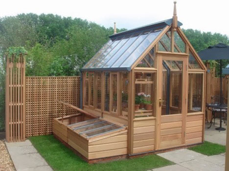 green house potting shed 0