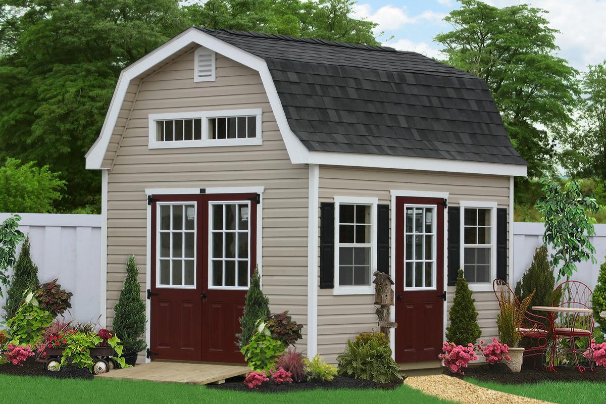 dutch barn outdoor storage sheds 0