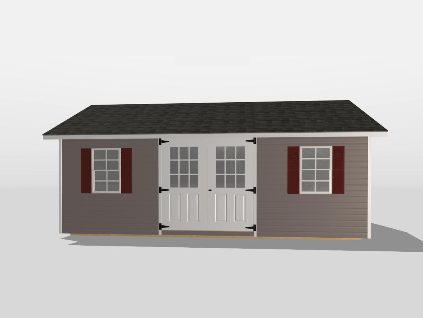 12x20 shed 3d builder