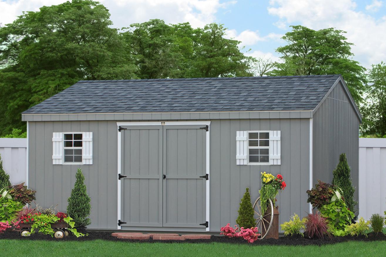 12x20 shed garden