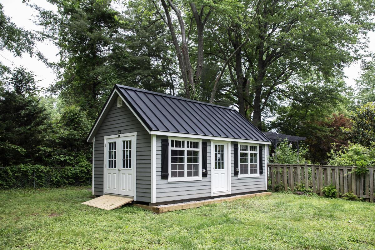 12x20 shed with ramp