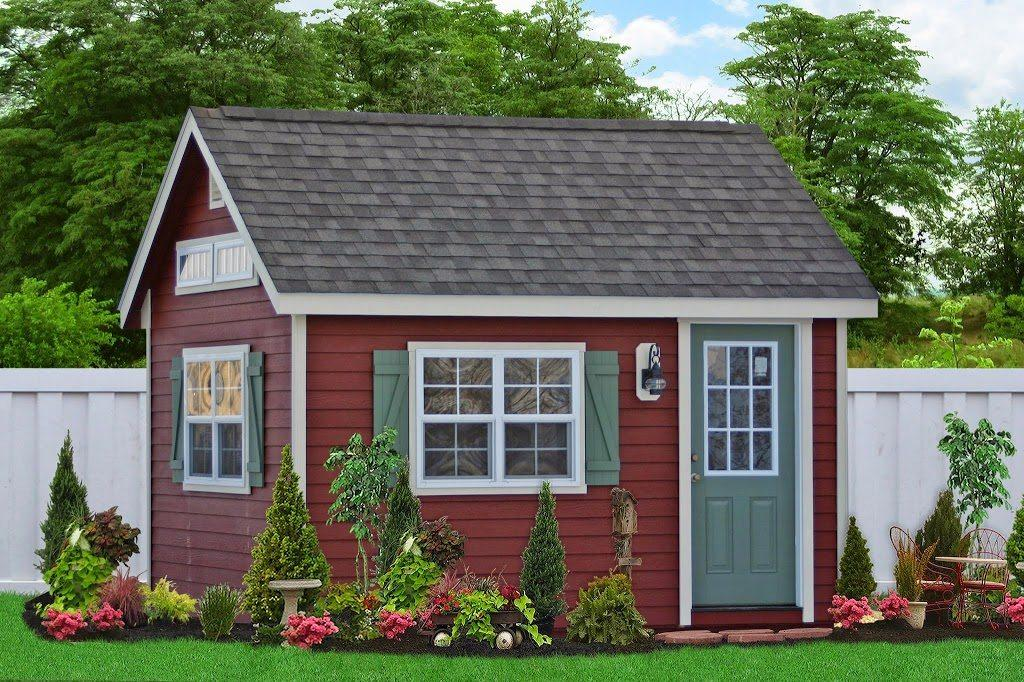 backyard home office shed