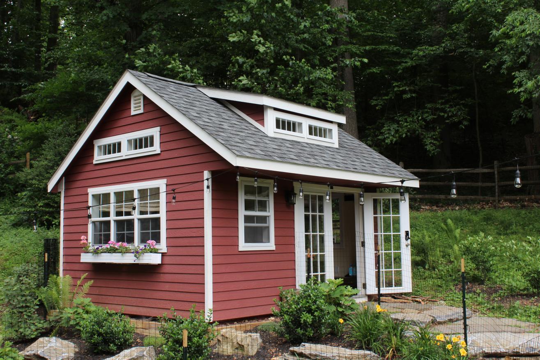 backyard office shed 1