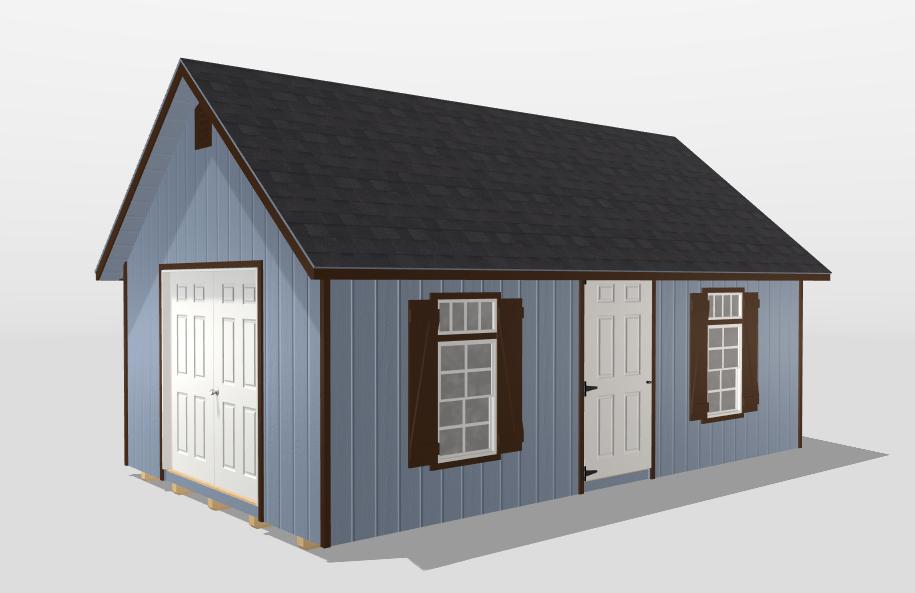 custom backyard office shed builder