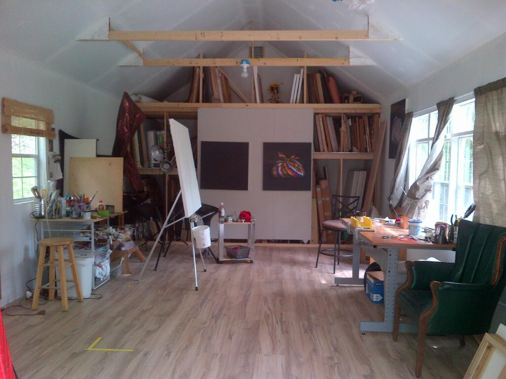 backyard studio workshop