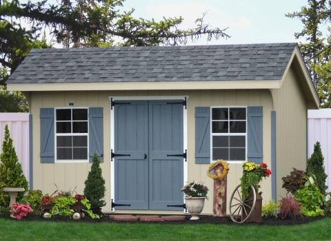 8x14 classic painted storage sheds in pa