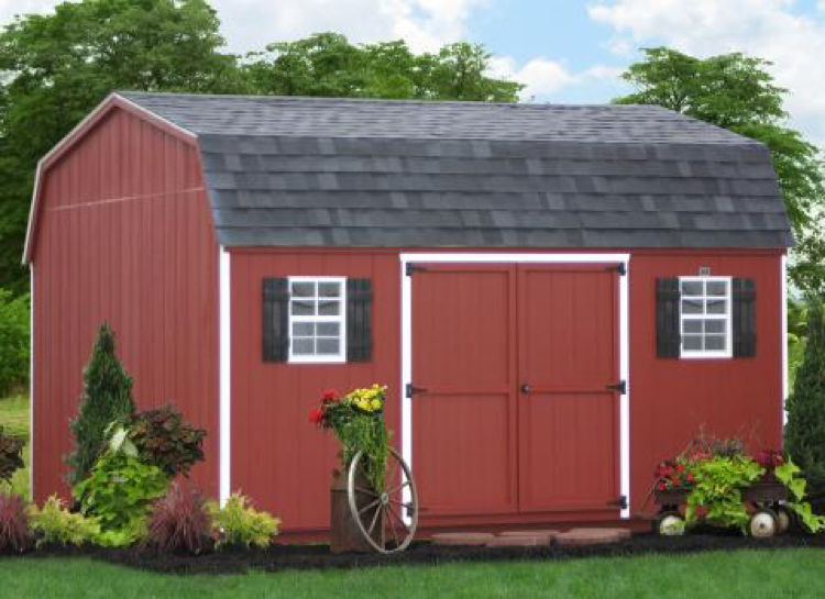 wood storage sheds in pa
