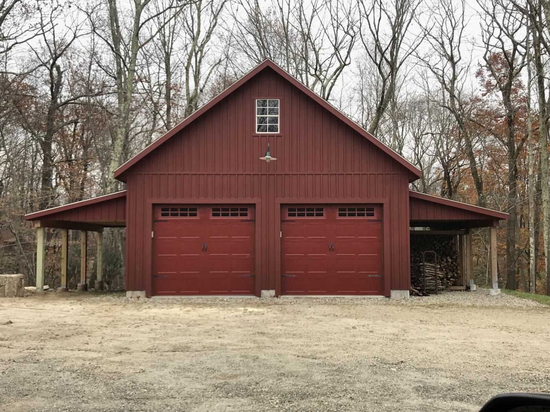 2 car garage with attic 0