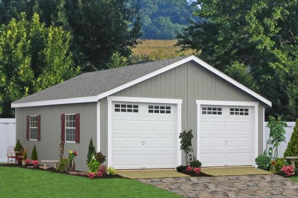 2 car modular garage pa 0