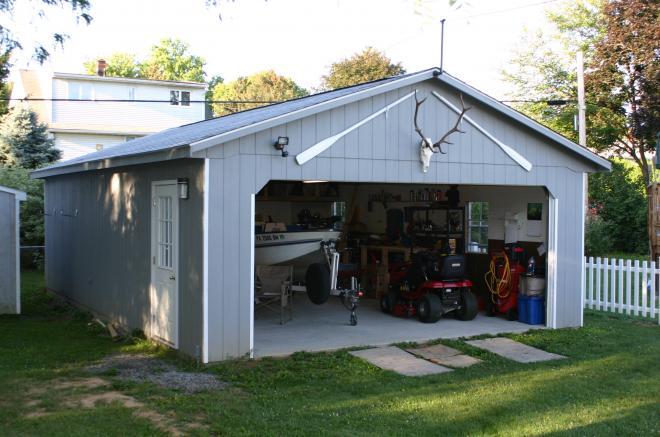 20x24 detached garage