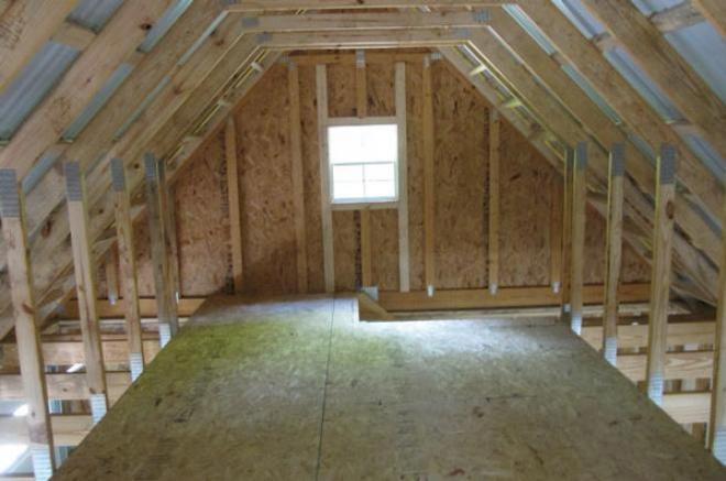 20x24 garage attic 0