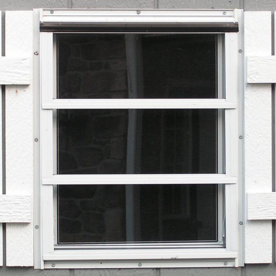 1white shutters detached garage builder 1