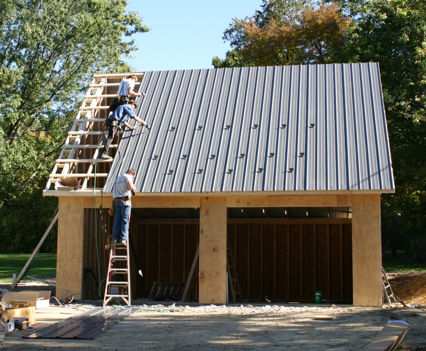amish garage builders