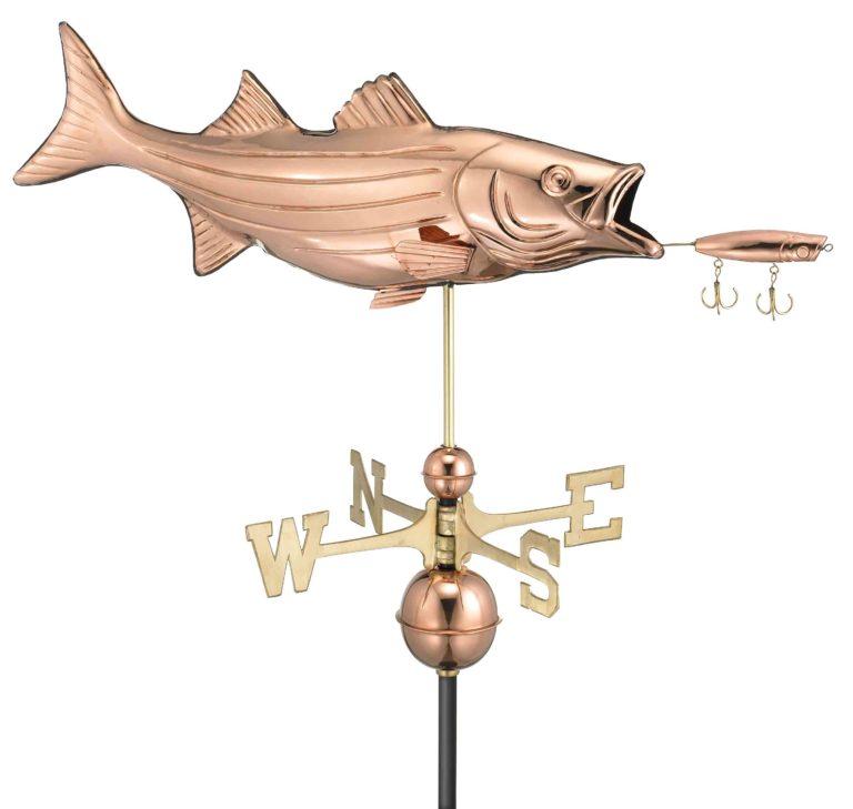 fish weathervane garage builder pa