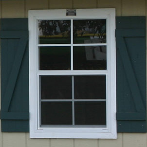 green shutters amish built