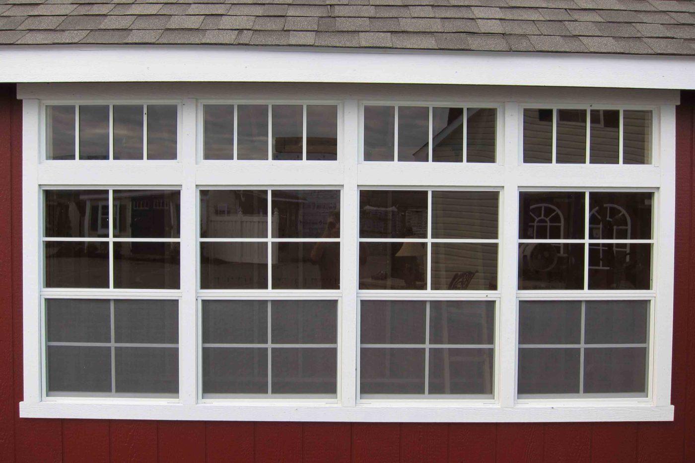 large window pa garage builder
