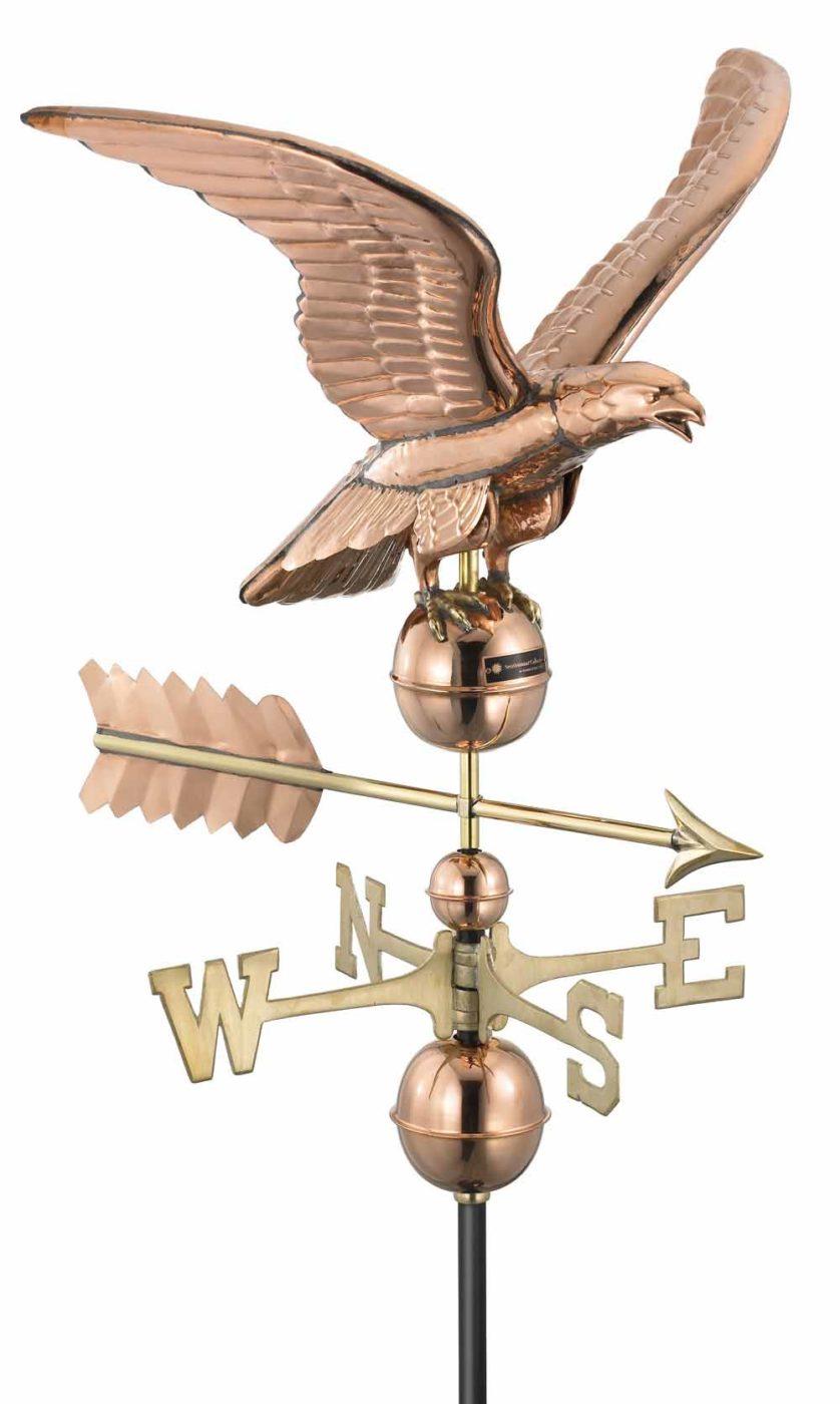 eagle weathervane amish garage builders