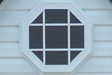 octagonal window custom garage builder