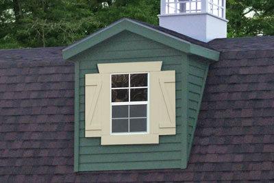 single window dormer custom garage builder