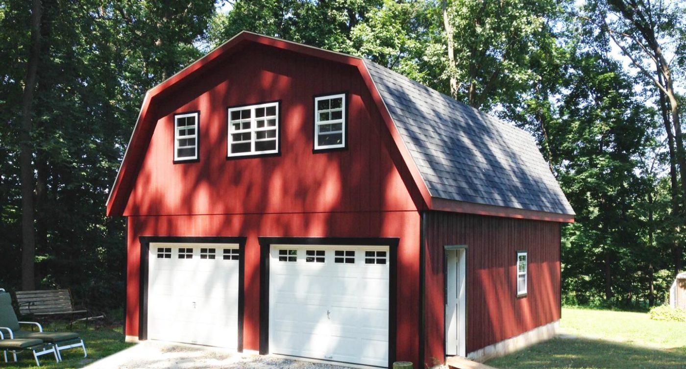 two car garage buildings