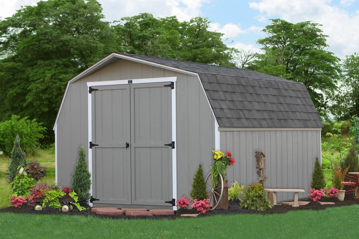 10x12 minibarn garden shed