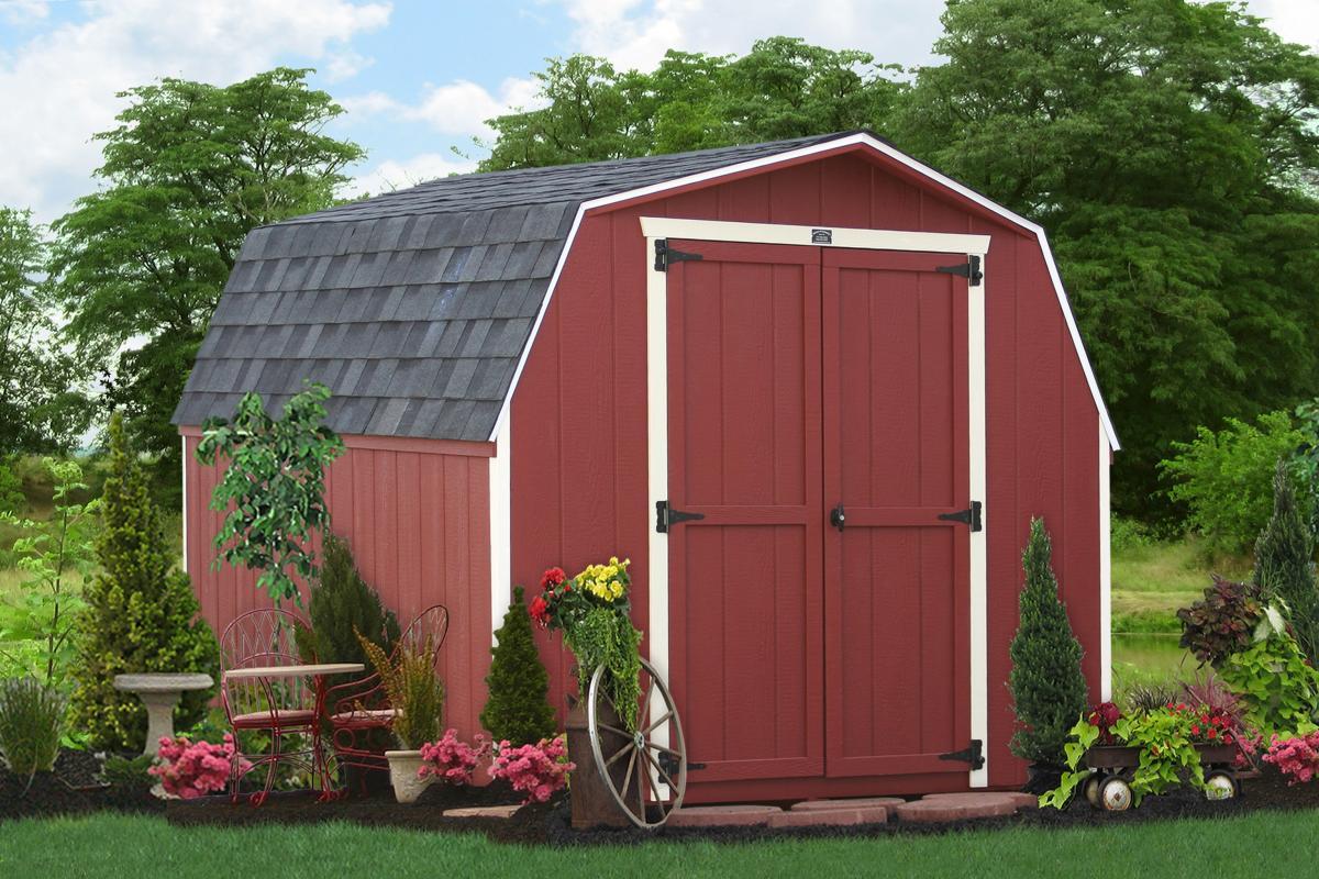 8x10 amish garden sheds