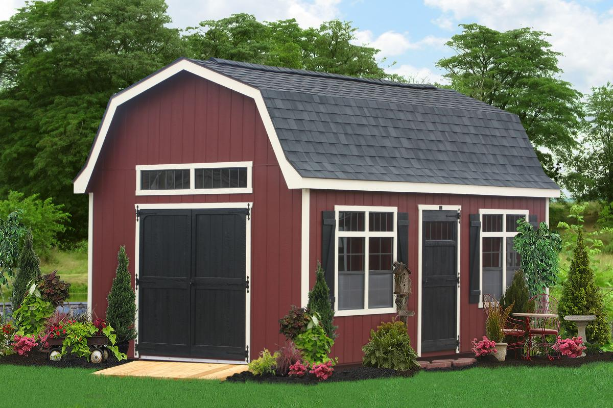 premier dutch garden shed