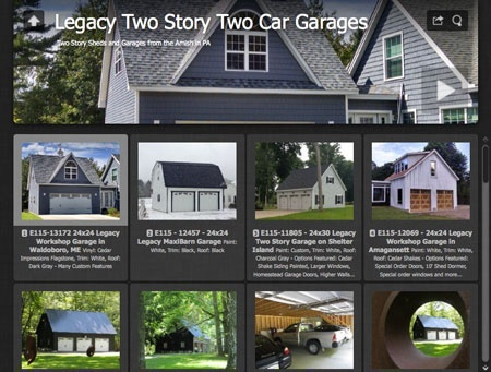 two car garage two story gallery 450x341