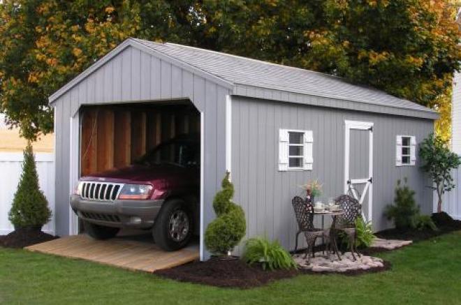 12x20 portable garage 1