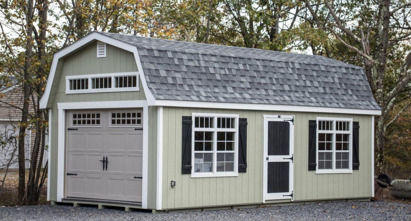 12x20 portable garage barn shed