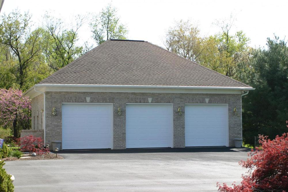 dimensions for a three car garage 0