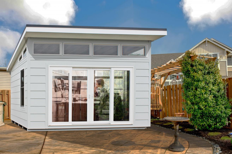 home office modern garden shed 0