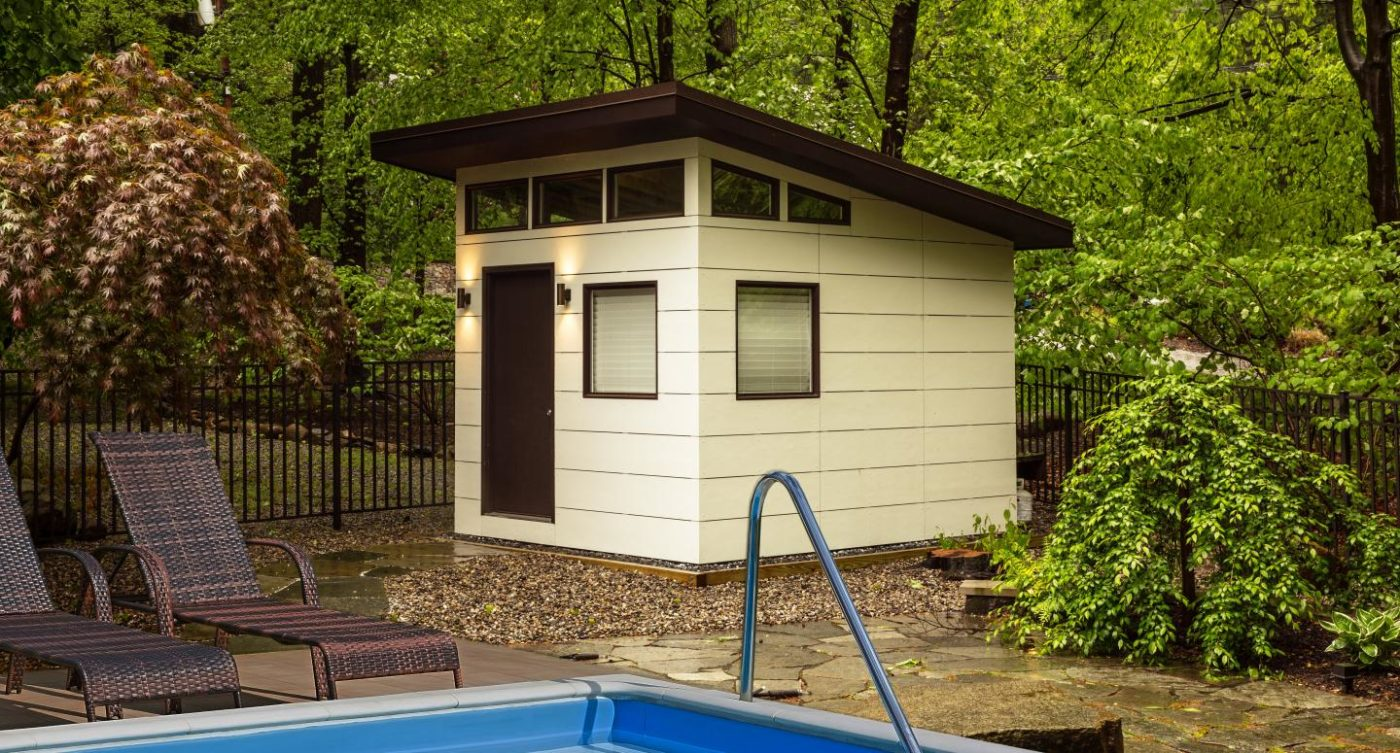 small modern garden shed for sale
