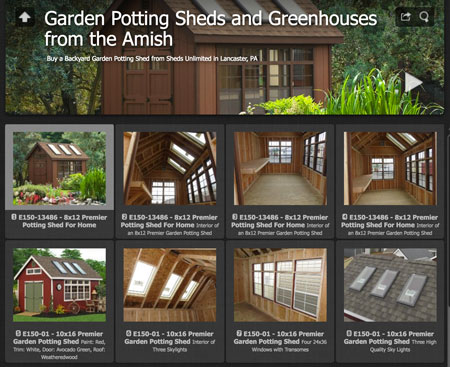 potting shed ideas gallery