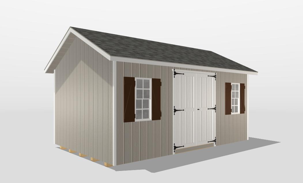 3d small storage sheds builder