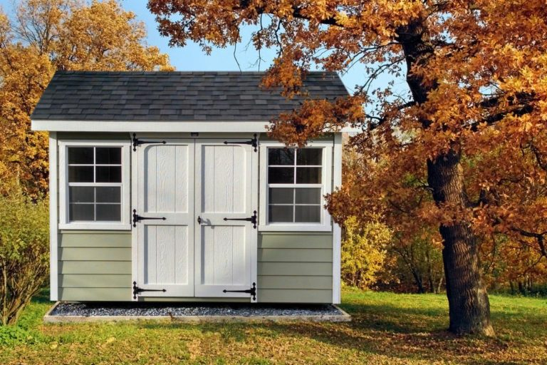 classic workshop small storage shed