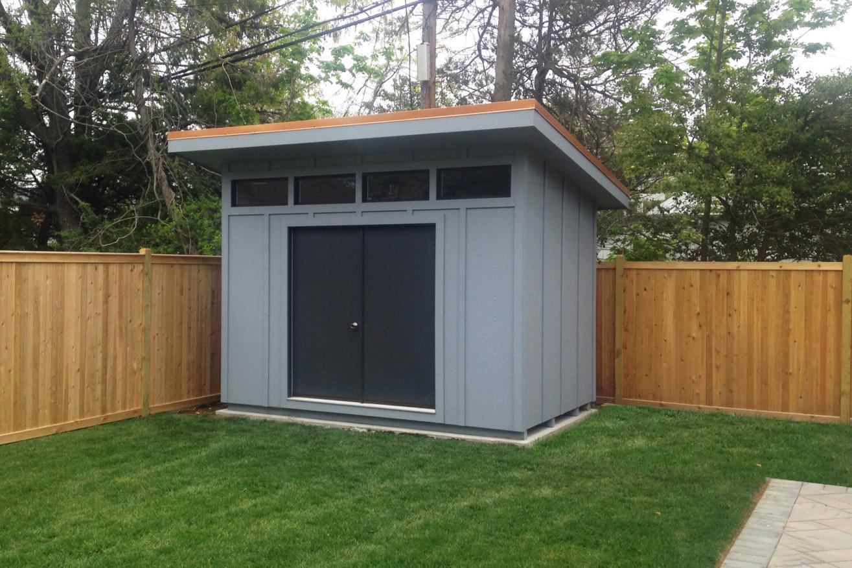 modern small storage sheds