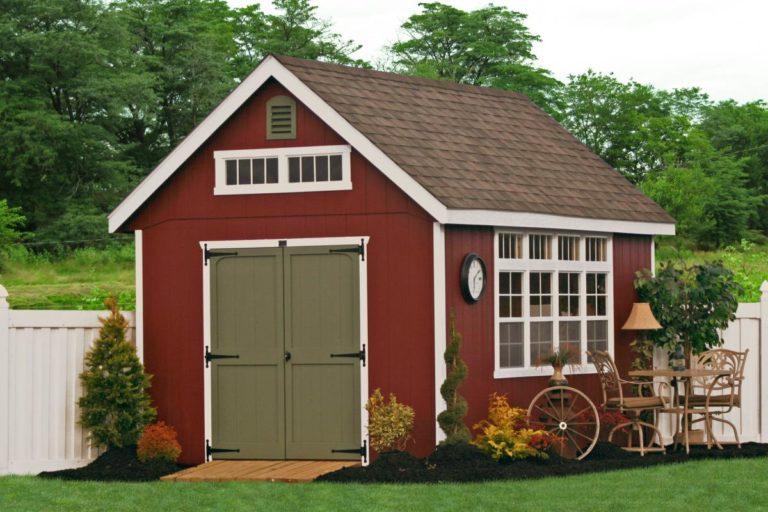premier workshop small storage sheds