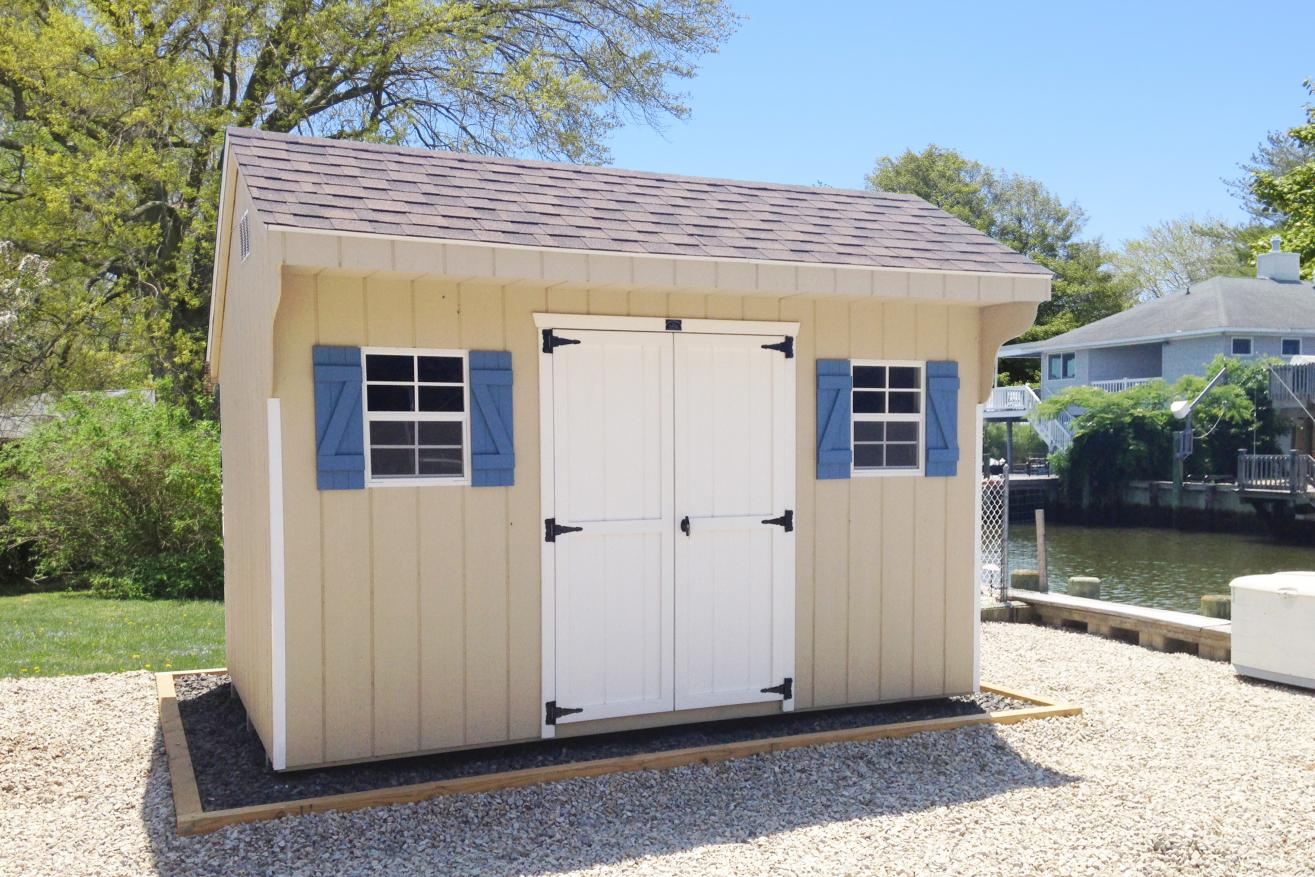 saltbox small storage sheds