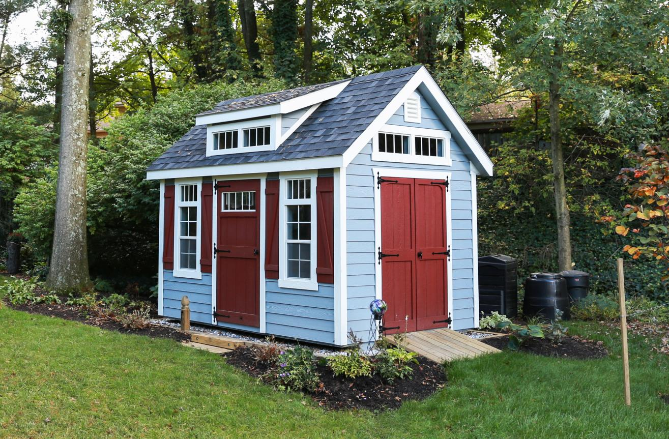 small storage shed options