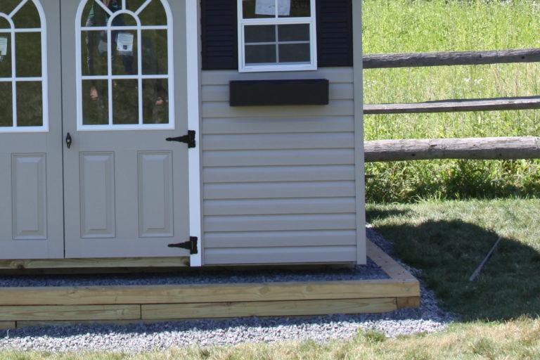 vinyl shed pad