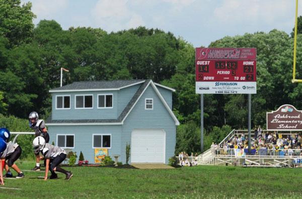 sports field buildings